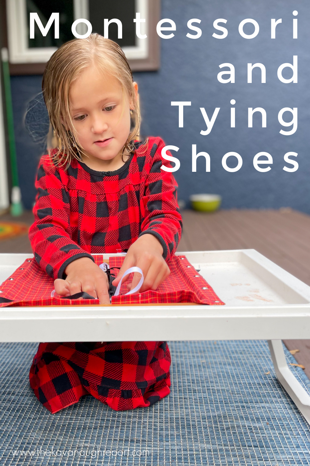 This easy Montessori activity for elementary kids helps them learn to independently tie their shoelaces without frustration, tears, or fighting.