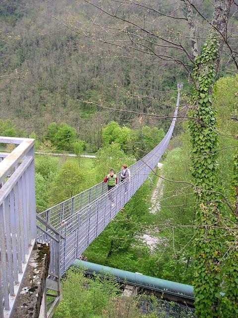 Ponte Sospeso di San Marcello Pistoiese (Piteglio - Pistoia)
