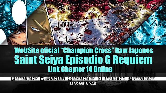 "Saint Seiya Episodio G Requiem – Capitulo 14 – WebSite oficial ""Champion Cross"" Raw Japones"