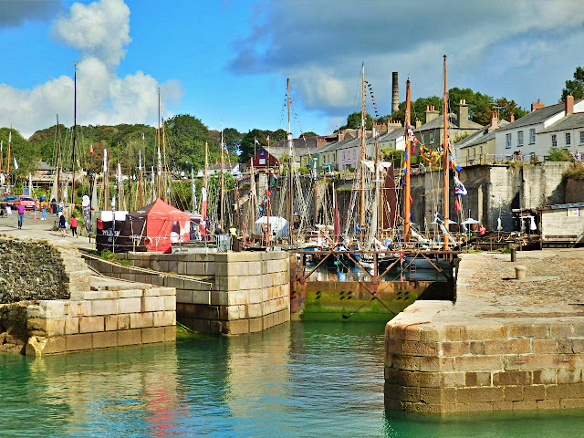 Harbour at Charlestown, Cornwall