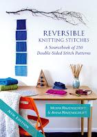 Reversible Knitting Stitches by Moira Ravenscroft & Anna Ravenscroft, www.wyndlestrawdesigns.com