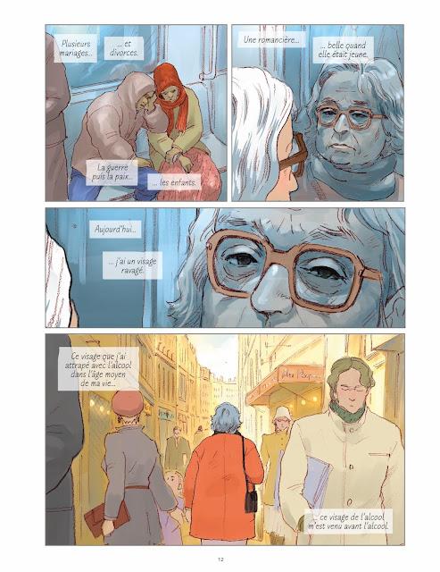 L'amant d'après le roman de Marguerite Duras par Kan Takahama aux éditions Rue de Sèvres page 12