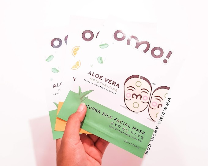 First Impression OMO! Cupra Silk Facial Mask - Masker Korea Halal