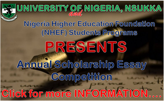 UNN annual scholarship essay competition