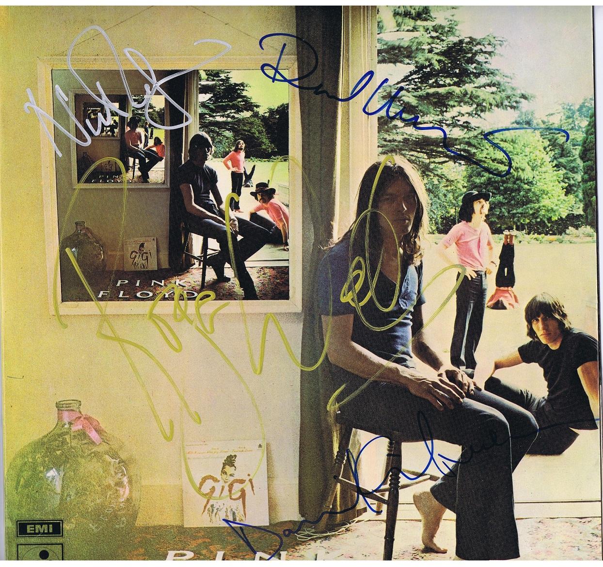 Pink Floyd Autographs