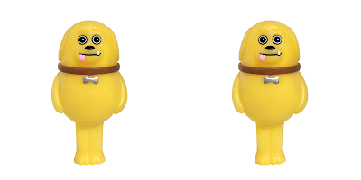 Doggo Yellow Edition Resin Figure by Sad Salesman