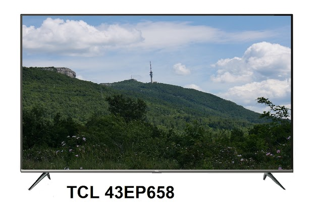 TCL 43EP658 4k Smart TV