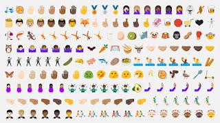 Android 7.0 Nougat New Emoji