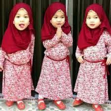 Baju Muslim Anak Perempuan Usia 1 Tahun