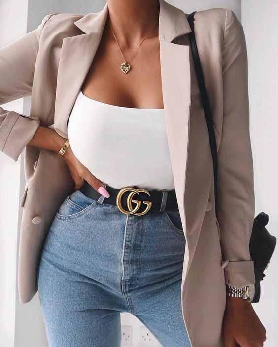 7 looks incríveis com blazer bege