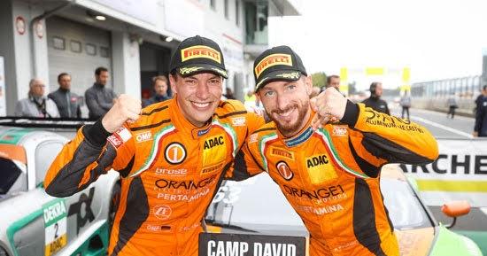 Bortolotti/Engelhart holen auf Nürburgring am Samstag zweiten Saisonsieg