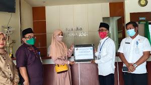 Kader Posyandu Kelapa Indah 8 Kelurahan Benda Dapat Santunan BPJS Ketenagakerjaan Sebesar 42 Juta