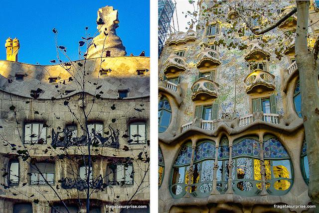 Gaudí em Barcelona: Casa Battló e La Pedrera