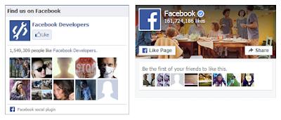 Widgets de Me Gusta de Facebook para Blogger