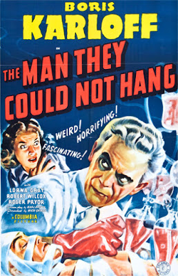 Poster - The Man They Could Not Hang (1939)
