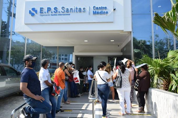 Salud Distrital se toma las EPS con estrictos controles sanitarios