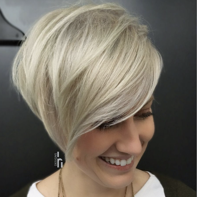 medium short hairstyles 2019 female