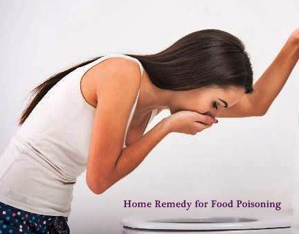 Home Remedy for Food Poisoning