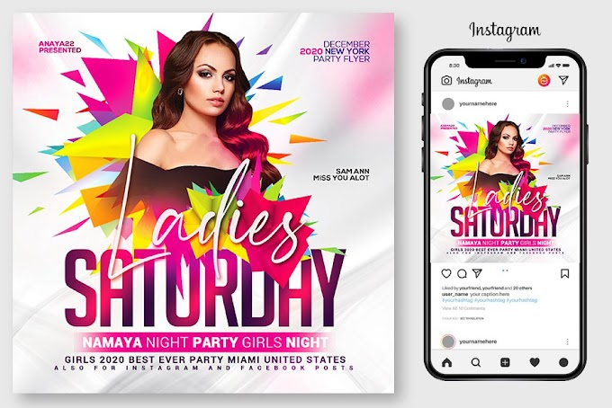 Ladies Night Club Flyer Template[Photoshop][4967105]