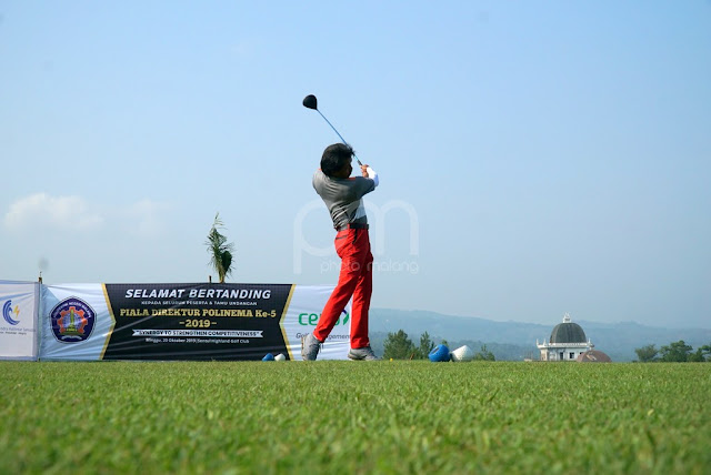 Pemenang Tournament Golf Piala Direktur Polinema ke V