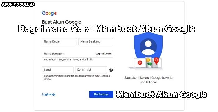 Membuat Akun Google hanya dalam hitungan menit,anda otomatis terdaftar di semua Platform Google, Akun Gmail, Akun Youtube, Akun Google Play, dll