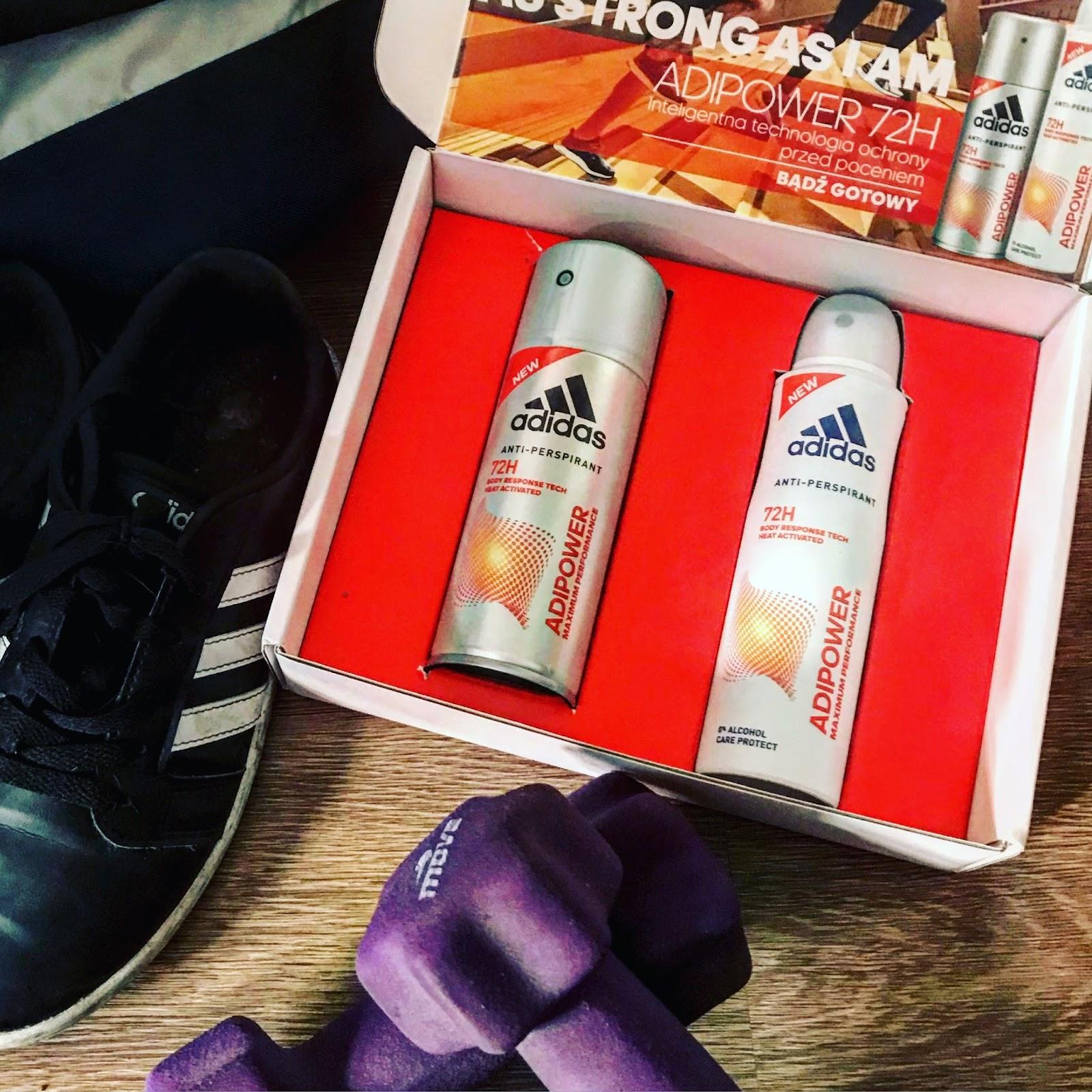 ADIPOWER  dezodoranty Adidas - Podsumowanie kampanii z TRND