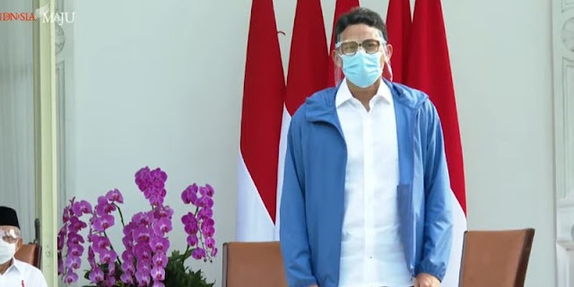 Tunjuk Sandiaga Sebagai Menparekraf, Jokowi: Semua Sudah Tahu
