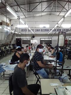 Ricol Têxtil inicia fabricação de máscaras de prevenção em Guarabira