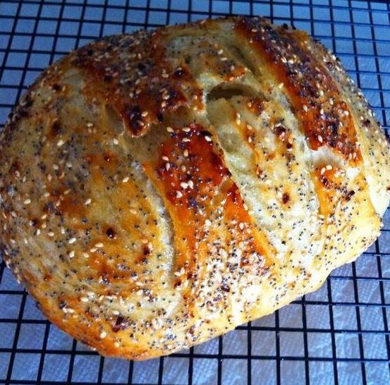 'Everything' Bread (Canning and Cooking at Home)