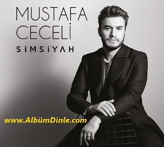 Mustafa Ceceli Simsiyah Albüm Kapağı