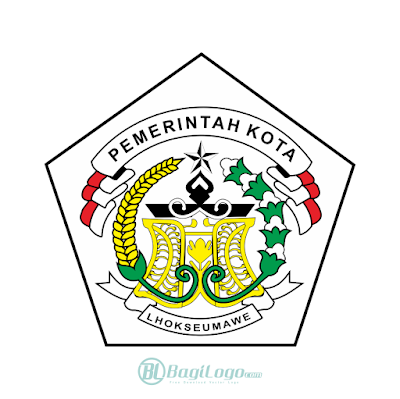 Kota Lhokseumawe Logo Vector