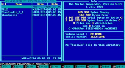 Norton Commander 5.51