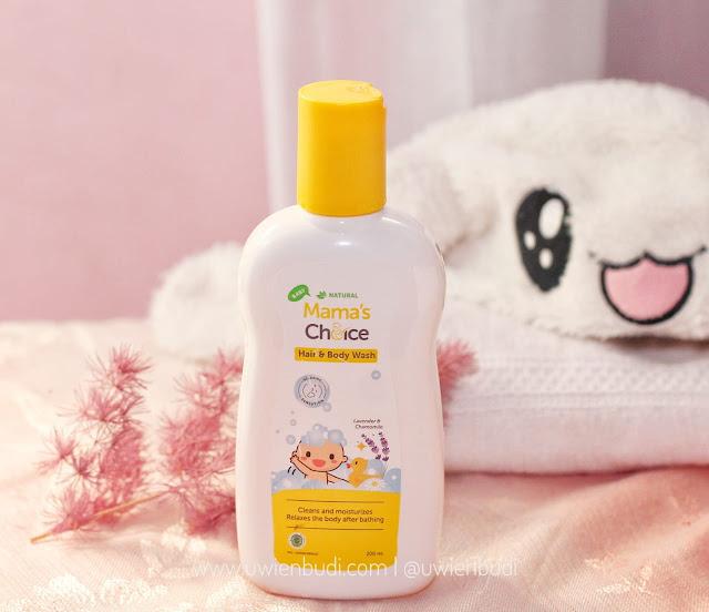 Review Mama's Choice Baby Hair and Body Wash Sabun untuk Bayi Kulit Sensitif