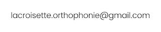 Contact - Espace orthophonie de la croisette