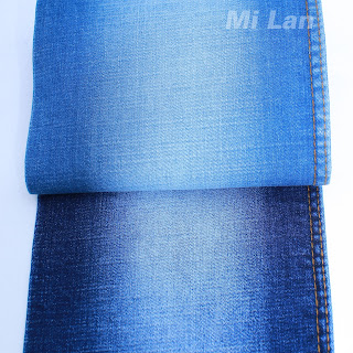 Vải Jean Bé gái Cotton thun nhẹ K52