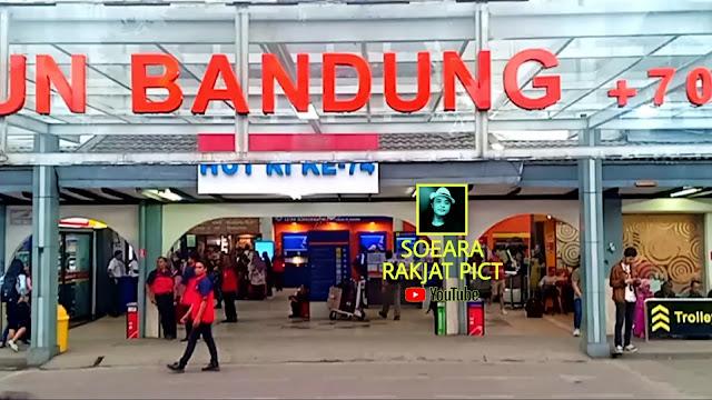 Stasiun Hall Bandung Stasiun bersejarah stasiun kereta terbesar di jawa barat