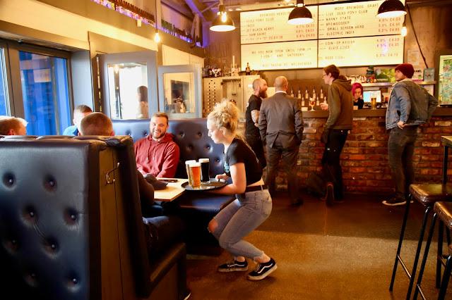 Brewdog,work place pub,  Aberdeen. pic:Kerstin Rodgers/msmarmitelover.com