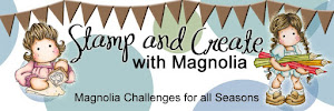 Stamp and create with Magnolia