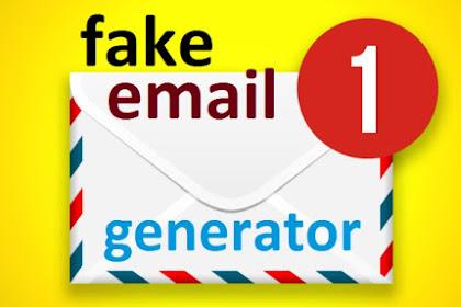 3 Situs Web Email Generator untuk membuat Email Fake