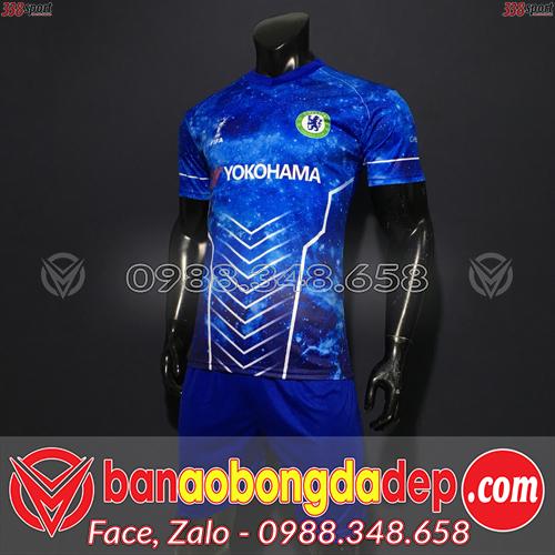 Áo Chelsea Màu Xanh Đậm 2020 Training 10