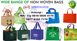 Produksi Goody bag - spunbond bag - go green bag - canvas bag - recycle bag - furing bag - goodie bag - tas kanvas - tas promosi Tangerang
