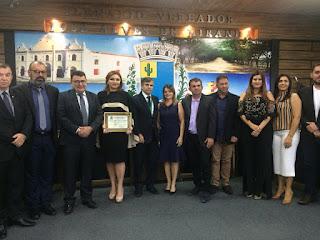 Presidente do TJPB e juíza paraibana são homenageados em sessão solene em Soledade