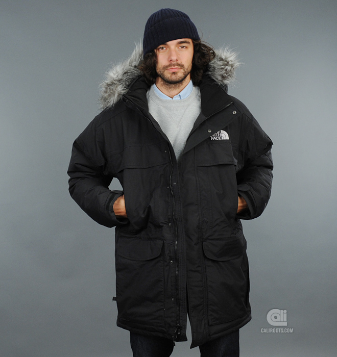 the caliroots blog the north face mcmurdo parka now at. Black Bedroom Furniture Sets. Home Design Ideas
