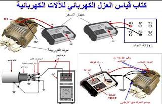 كتاب قياس العزل الكهربائي للآلات الكهربائية pdf