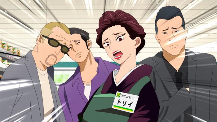 Gokushufudo (Yakuza amo de casa) anime - Netflix