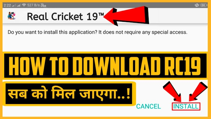 HOW TO DOWNLOAD RC19 NEW UPDATE 2019