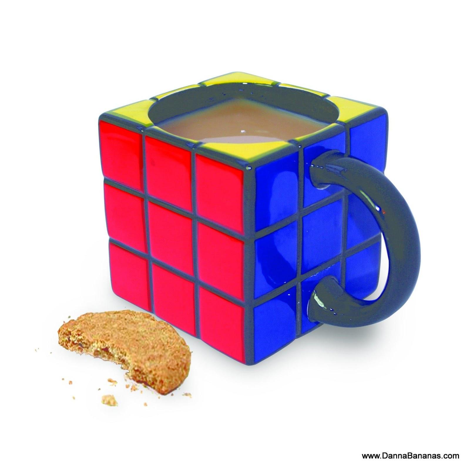 Diseño de Taza de cubo de Rubik.