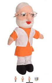 Play PM Narendra Modi Soft Toy In buy now Amazon, snap deal, Flip cart modi toy