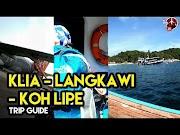 Cara dan Bajet untuk ke Koh Lipe Thailand Melalui Pulau Langkawi