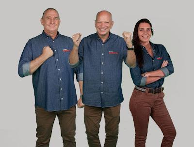 Álvaro José, Elia Junior e Glenda Kozlowski estão na linha de frente da transmissão - Divulgação